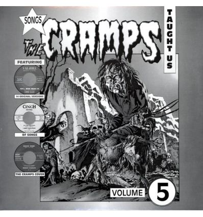 Songs The Cramps Taught Us - Volume 5 (LP) (Vinyl Maniac)