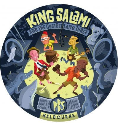 King Salami & The Cumberland Three - Loose At PBS Radio Melbourne (Vinyl Maniac)
