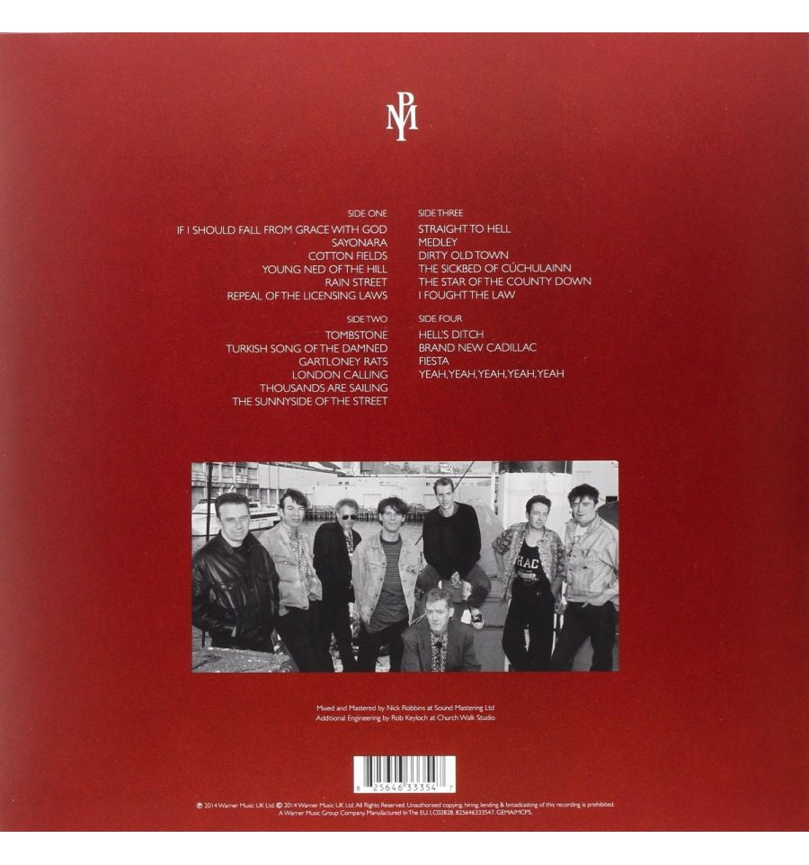 The Pogues With Joe Strummer Live In London 1991 Vinyl