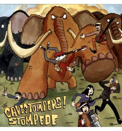 The Cavestompers! - Stompede (Vinyl Maniac - record store shop)