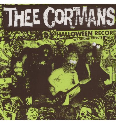 Thee Cormans - Halloween Record W/ Sound Effects