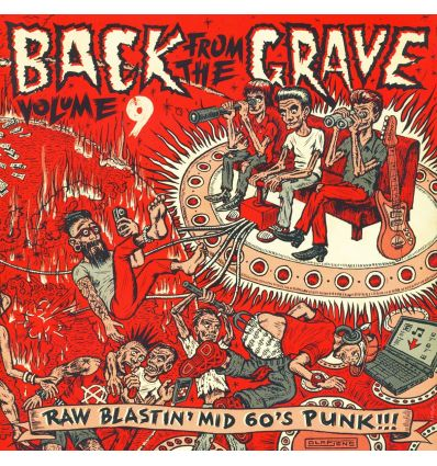 Back From The Grave Volume 9 (Vinyl Maniac - record store shop)