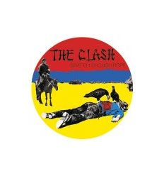 Badge 25 mm Vinyl Maniac - The Clash - Give 'Em Enough Rope