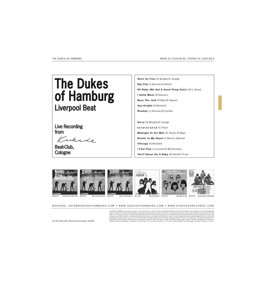 Dukes Of Hamburg, The - Some Folks By The Dukes Of Hamburg