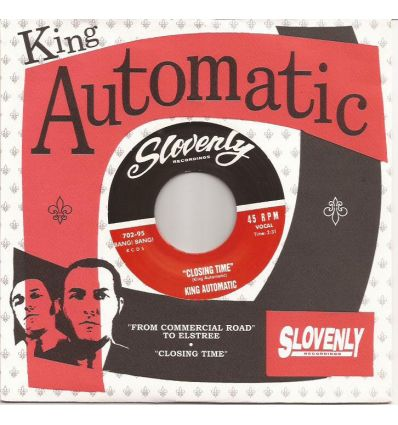 King Automatic - From Commercial Road To Elstree / Closing Time (Vinyl Maniac - record store shop)