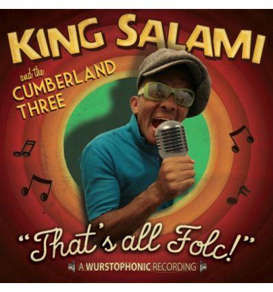 King Salami & The Cumberland Three - That's All Folc! (Vinyl Maniac - record store shop)