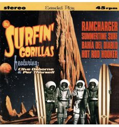 The Surfin' Gorillas - Ramcharger (Vinyl Maniac - vente de disques en ligne)