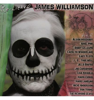 James Williamson ‎- Re-Licked (Vinyl Maniac - record store shop)