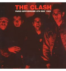 The Clash - Paris Hippodrome 8th May 1981 (Vinyl Maniac - record store shop)