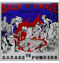 Back From The Grave Volume Two - Crypt Records (Vinyl Maniac)