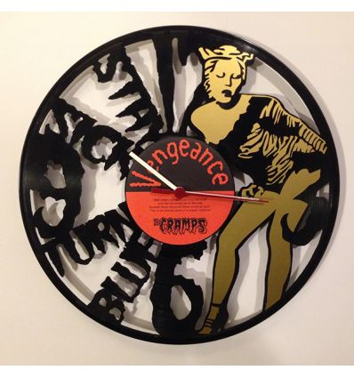 Wall Clock : The Cramps - Stay Sick Turn Blue