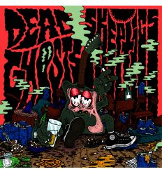 Dead Ghosts, The Skeptics - Split 7'' (Vinyl Maniac - record store shop)