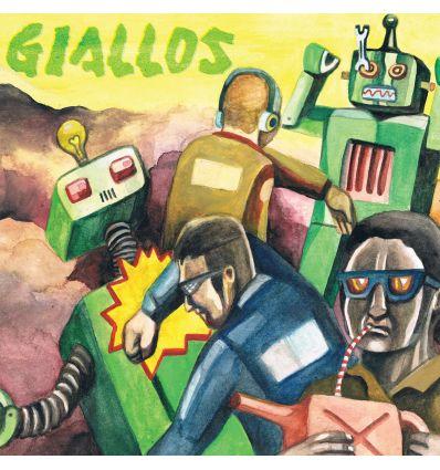 Giallos - ¡Contra! (Vinyl Maniac - record store shop)
