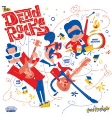 The Dead Rocks - Surf Explosão (Vinyl Maniac - record store shop)