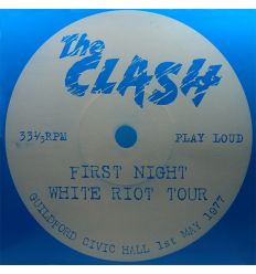 The Clash - First Night White Riot Tour (Vinyl Maniac - record store shop)