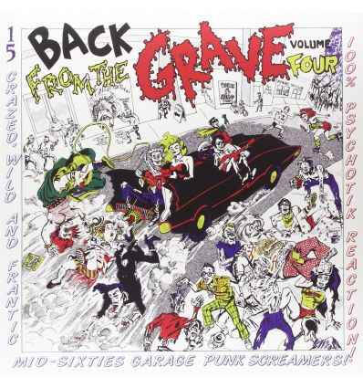 Back From The Grave Volume 4 (Gatefold) (Vinyl Maniac)