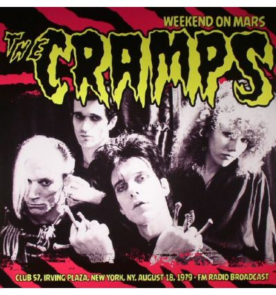 The Cramps - Weekend On Mars-Club 57 (Vinyl Maniac - record store shop)