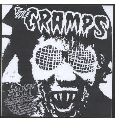 The Cramps - Totally Destroy Seattle (Vinyl Maniac - record store shop)