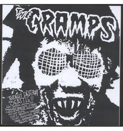 The Cramps - Totally Destroy Seattle (Vinyl Maniac, disquaire en ligne)